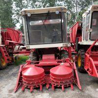玉米秸秆粉碎青储机 青贮饲料收割机 大型自走式转盘割台青储机