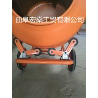 便携式滚筒式混凝土搅拌机 家用饲料沙石搅拌