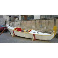 【冯氏木船】3米木质贡多拉装饰船 威尼斯贡多拉景观船 摆件船