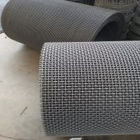 高锰钢筛网厂批发 小孔7.0mm黑钢轧花网 黑脑GFW304L矿石筛网