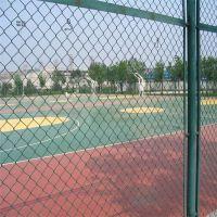 【球场围网】供应 体育场围网 勾花铁丝护栏 学校足球场围栏支持定做