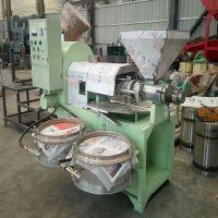 临旺新型全自动螺旋榨油机 花生芝麻螺旋榨油机