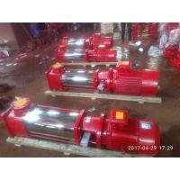 XBD立式多级消防泵 XBD10.0/5G-GDL 11KW 多级消防泵价格 不阻塞