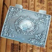 复古盒子定制/金属首饰盒制作/广东金属徽章定制厂家