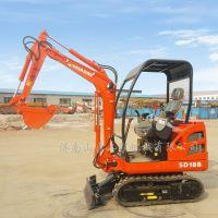 青州厂家直销两头忙挖掘装载机微小型挖掘机山鼎