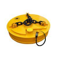10吨龙门吊用电磁吸盘 直径180废铁废钢起重电磁铁 安尔特