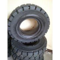 浙江省厂家定做拖车实心轮600-9带钢圈隧道衬砌台车专用700-12实心轮胎出口