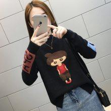地摊服装韩版女装毛衣打底衫 库存杂款外贸尾货女式羊毛衫批发