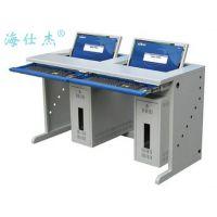 【钢制翻转电脑桌】厂家供应海仕杰DNZ-5100钢制翻转双人电脑桌