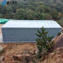 杭州拱墅区大型雨棚遮阳棚折叠伸缩移动雨棚布定做推拉棚低价批发