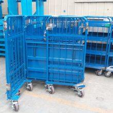非标定制多规格钢网周转车/线网物流台车/线网物料车