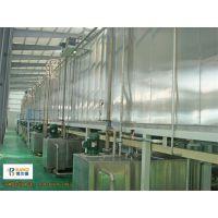 铝型材喷涂设备 粉末静电喷塑流水线 博兰德保证 超越传统进口喷粉房换色只需10min