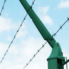 刺铁丝护栏网 固腾带刺铁线 圈地刺线多少钱一米