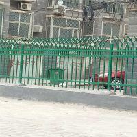 社区围墙铁栏杆@鹤壁社区围墙锌钢护栏@社区防爬铁栅栏厂家