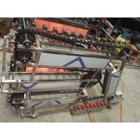 自动烧烤机@电烤炉@链条电动烤肉机@燃气自动翻转烤串机 崇胜机械制造点焊