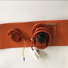 北京煤气罐钢瓶加热带50㎏400W硅橡胶电热带防水加热化冰现货包邮