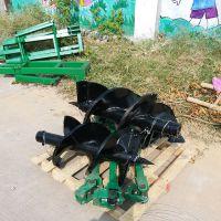 四轮牵引式挖坑种植机苗圃植树挖坑机