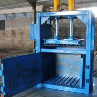 富兴厂家生产定制立式液压打包机 纸管废品压包机 双缸塑料薄膜压缩机