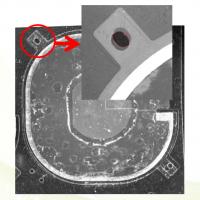 陶瓷片外观缺陷检测、表面划伤缺胶孔错位、压痕异物残留