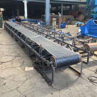 加工生产移动式可伸缩皮带输送机 工地专用水泥上料机 中天