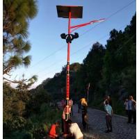 安庆农村常规太阳能路灯批发 黄山旅游景区太阳能景观庭院灯 科尼照明高杆灯