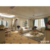老房装修|实创装饰缔造望京南湖150平美式乡村平层装修方案