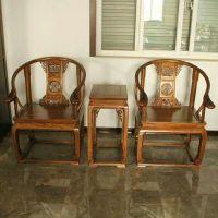 星河榆木椅子三件套批发定做直供肃宁