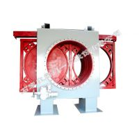 石家庄阀门一厂生产的环球牌敞开式出口电动插板阀 (F941X-1.5C DN1000-2800)