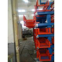 伸缩悬臂式货架 河南管材货架厂家 钢管仓库专用架 重载架