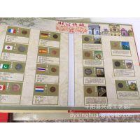 财富典藏二十八国外国钱币珍藏册 28国钱币外国钱币收藏 保险礼品
