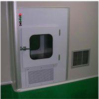 内嵌式自净式传递窗净化传递窗厂家定制 禄米科技