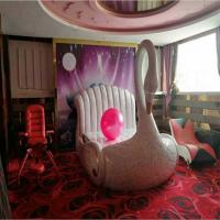 影视宾馆天鹅床