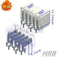 HRB鸿儒供应RAST 5.0刺破连接器 壁挂炉连接器 M9401过UL/CUL认证