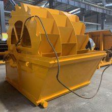 金宝山XS3014轮斗式高效洗砂机逆流槽水力选矿设备