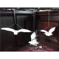 仿真海鸥 仿真动物 玻璃钢材质动物雕像 创意工艺品