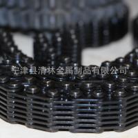 304不锈钢链条输瓶机专用齿链带高质量可定制玻璃机械齿链带无声齿型链带