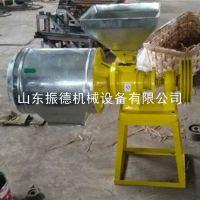 现货热销 去麸皮电动磨面机 杂粮面粉机 多功能磨面机 振德