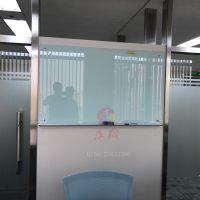 肇庆定制表格玻璃白板O遂宁单面金属边框玻璃白板O记号笔写字板