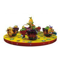 儿童水果派转杯对旋转游戏机 大型游乐设备 公园新款设备
