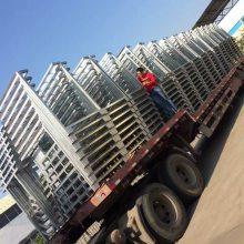 非标定制堆垛架能随意布置,移动方便。采用叠放保管设计,节省空间