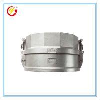 优品直销内螺纹D型6寸快速接头 大口径不锈钢304材质重型管道快接