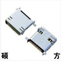 硕方 MINI USB插座双排12PSMT式 CZ-012