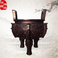 供应大型禅院佛寺铸铜香炉鼎 香炉铸造厂