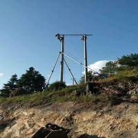 文山县铝合金三角拔杆批发 水泥杆抱杆立杆机使用方法 【刻发】
