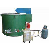 【赛德斯】厂家可定制450kg熔铝炉 燃气熔铝炉可发货顺平