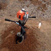 汽油自动打孔机 铁路护栏打桩机 植树挖坑机