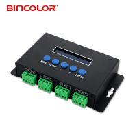 配套madrix控制以太网协议4路SPI信号输出2813IC全彩像素点光源控制器