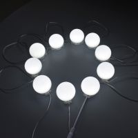 LED灯泡镜 发光镜前灯 调 光变色镜前灯泡镜子生产工厂