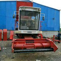 大型牧草青储粉碎回收机 自走式玉米秸秆青贮收割机厂家