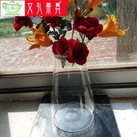 耐热玻璃密封储物罐 竹盖茶叶罐 大容量五谷杂粮密封罐